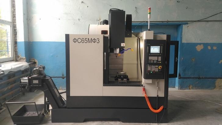 ФС65МФ3 фрезерный обрабатывающий центр с ЧПУ Siemens