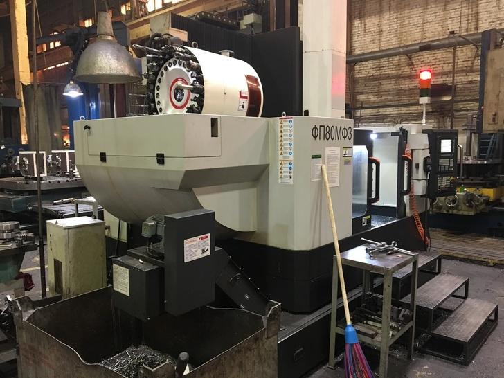 ФП80МФ3 фрезерный обрабатывающий центр с ЧПУ Siemens