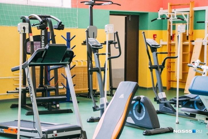 Залу может позавидовать даже какой-нибудь фитнес-клуб