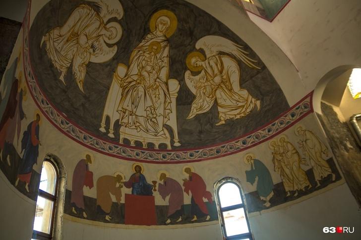 Союз света и воды: в Самаре открыли Софийский собор