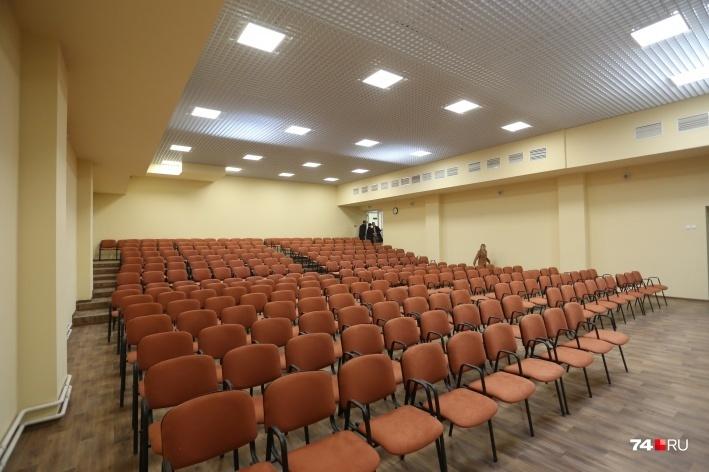 Здесь уже оборудовали собственный конференц-зал на 350 человек