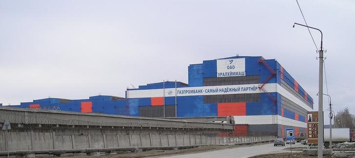 УралХиммаш. Блок цехов рулонированной аппаратуры