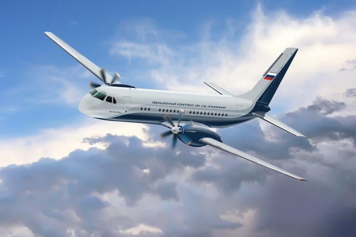 Начато строительство второго опытного образца самолета Ил-114-300