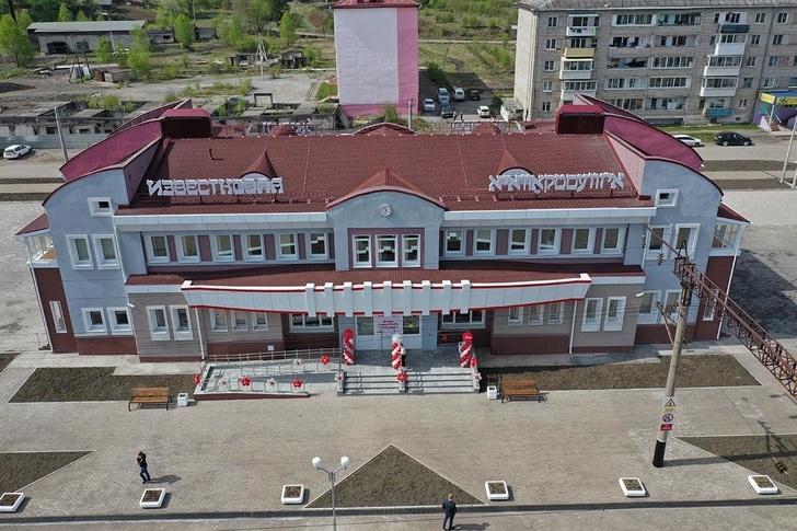 В Еврейской АО открылся новый железнодорожный вокзал
