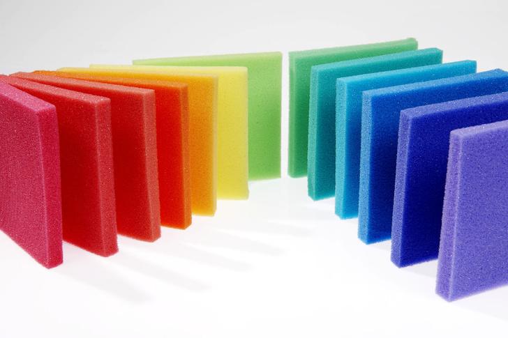 Цветной поролон