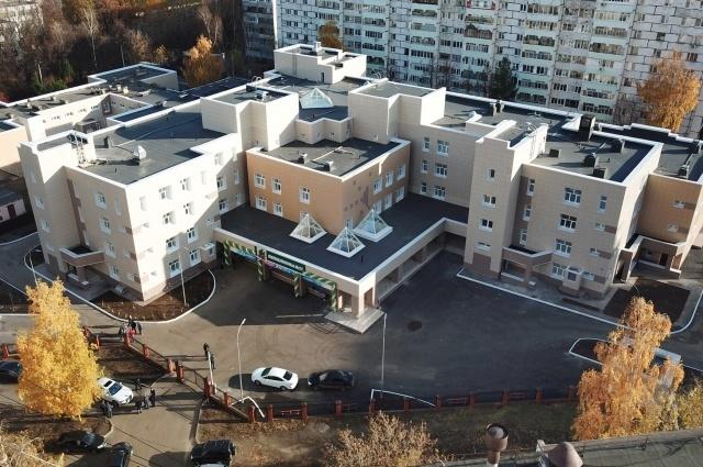 В Казани открылась самая большая поликлиника в городе
