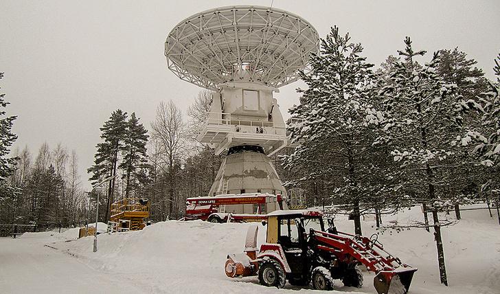 Радиотелескоп РТ-13. Источник: ИПА РАН