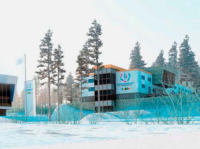 Многофункциональный спортивный комплекс в Красноярске принял первых посетителей
