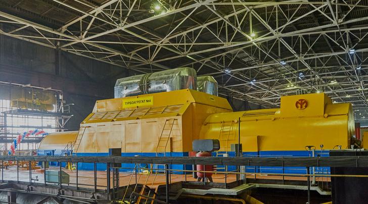 Первая турбина Т-123, запущенная на Улан-Баторской ТЭЦ-4 в 2019 году