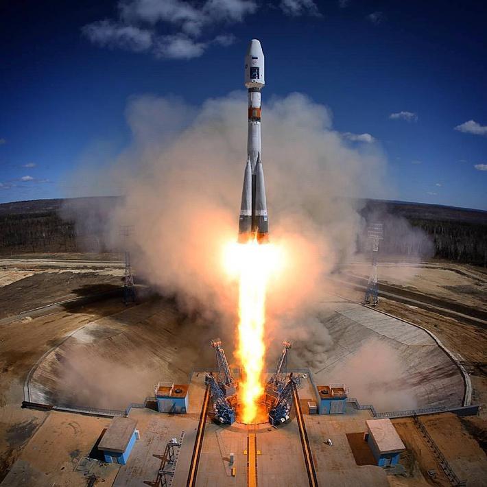 Фотография Сергея Сергеева, Роскосмос