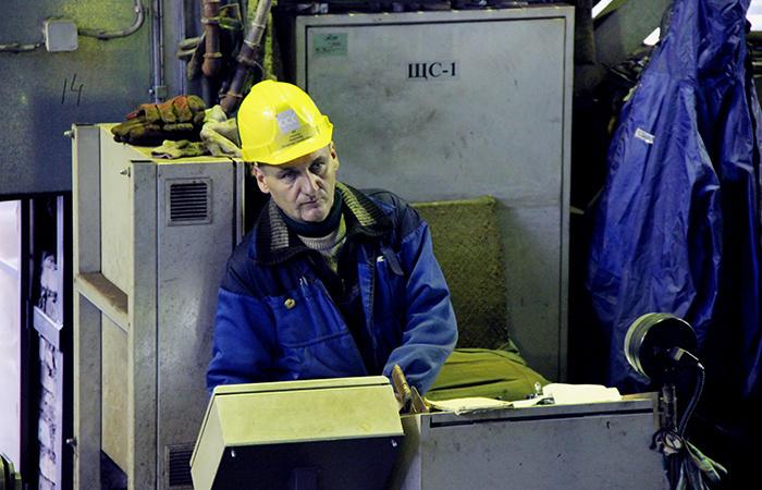 Участок первичной обработки металла, Выборгский СЗ