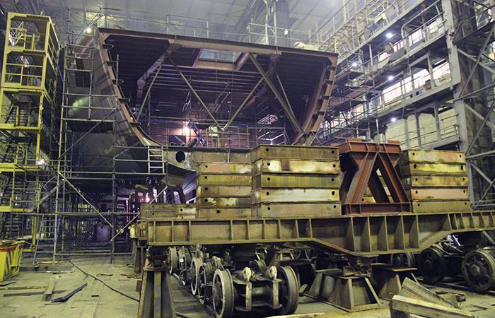 Корпусо-строительный цех, Выборгский СЗ