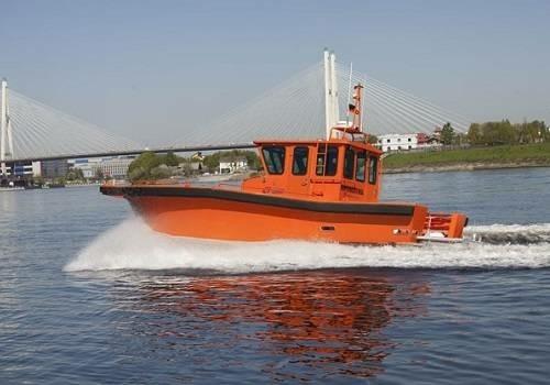 Морспасслужба получила многофункциональный скоростной рабочий катер МРК-1000