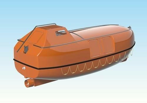В Ленобласти строят спасательную шлюпку закрытого типа на 80 человек