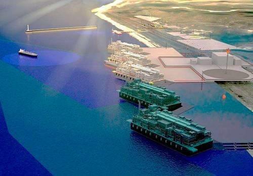 Согласован проект строительства СПГ-терминала
