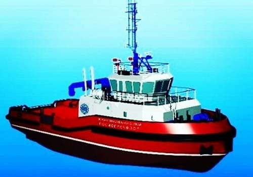 Ахтубинский СРЗ ведет строительство морского буксира для Морспасслужбы