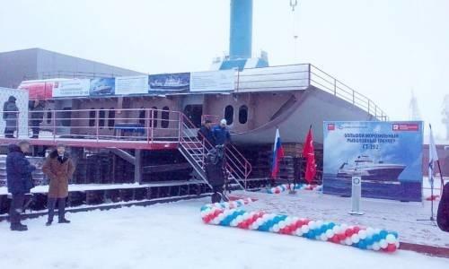 На Адмиралтейских верфях заложили головной траулер проекта СТ-192