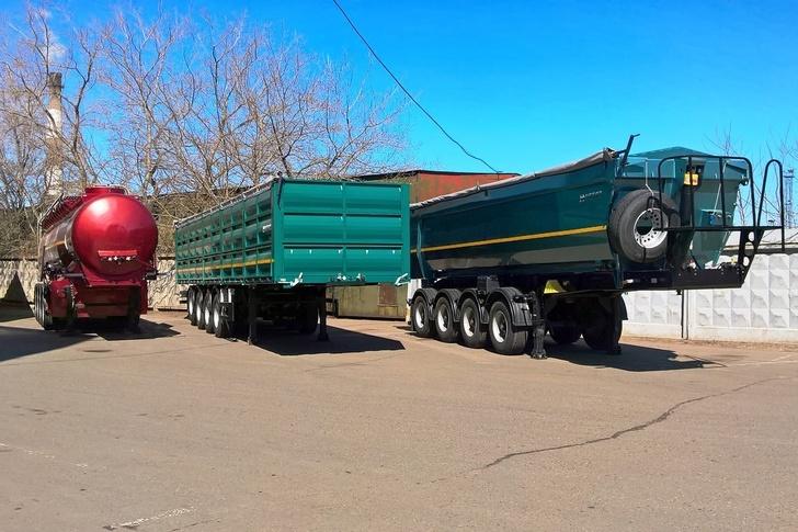 КамАЗ объявил о старте продаж новой линейки полуприцепов