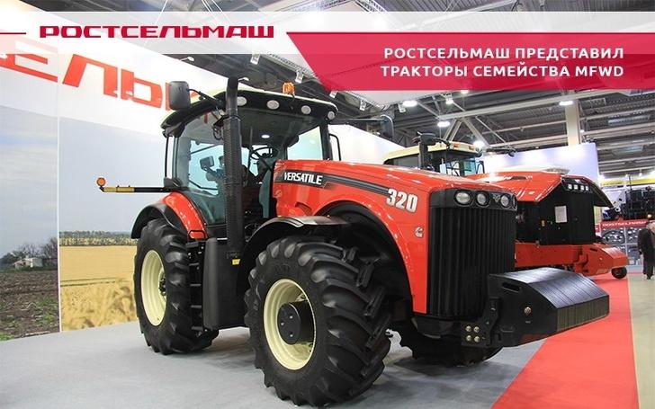 Ростсельмаш представил модернизированные тракторы с классической рамой VERSATILE R2 и R3