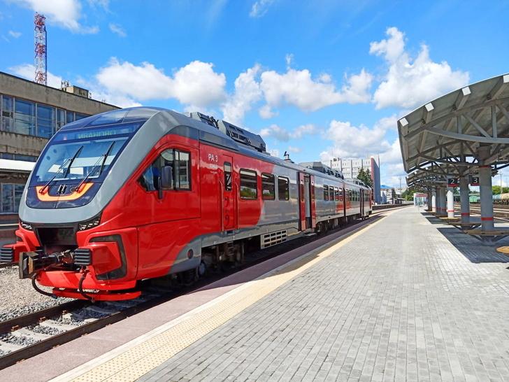 Рельсовые автобусы «Орлан» соединили Иваново и Кинешму