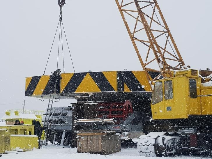 Сборка нового экскаватора ЭКГ-35