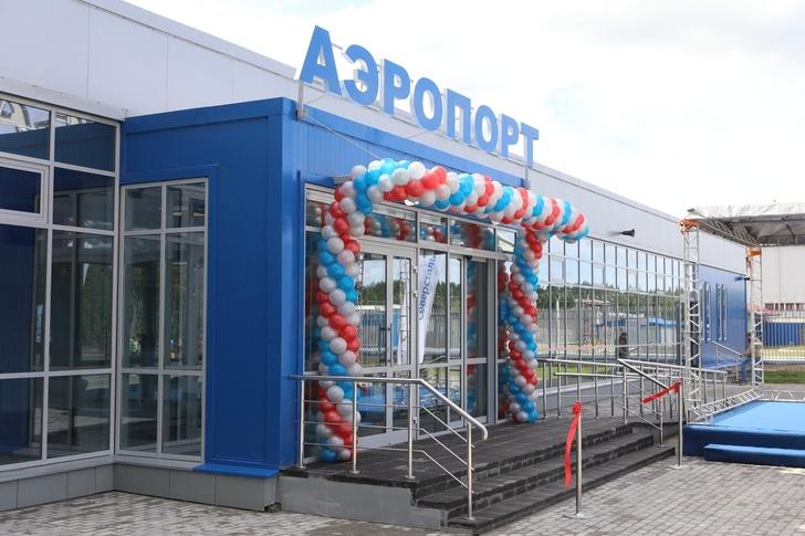 В аэропорту Череповца построили новый терминал