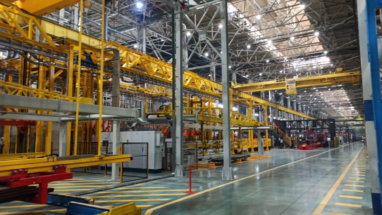 В Татарстане на «КАМАЗе» запущено новое производство рам