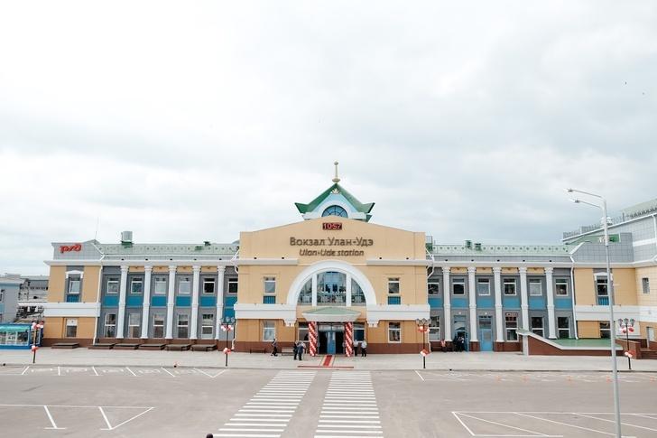 В Улан-Удэ завершилась масштабная реконструкция железнодорожного вокзала