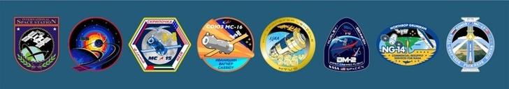Логотипы Экспедиции МКС-63