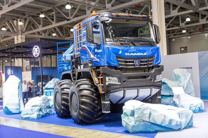 Новый КАМАЗ-Арктика с кабиной К5 представлен на Комтранс-2019