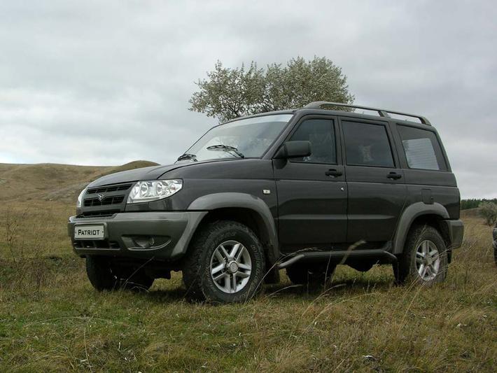 Фото автомобиля УАЗ «Патриот»