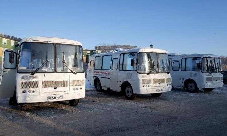 В Челябинской области обновился парк автомобилей медслужбы