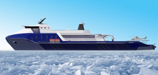 В борьбе за Арктику: Россия создает суперледоколы