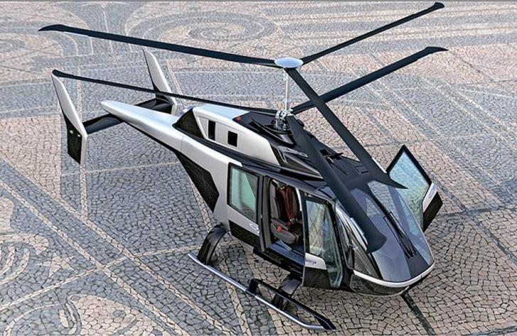 Презентация легкого вертолета VRT500: преимущества выбранной РФ схемы