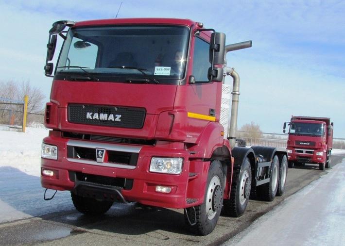 Сверхтяжелые гиганты КАМАЗа запущены в серийное производство