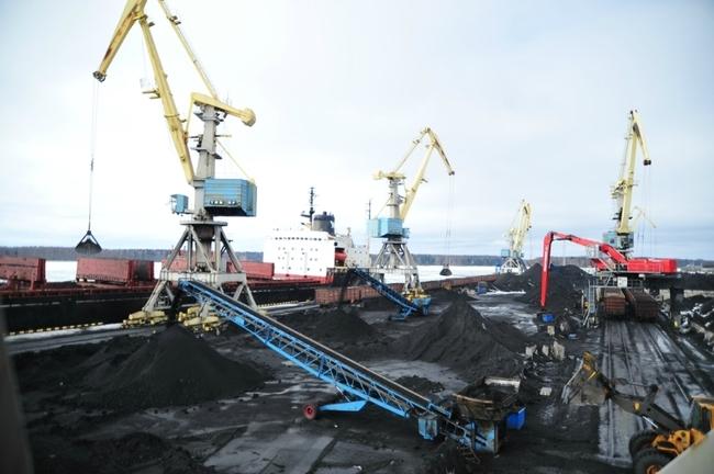 грузопотоки угля: