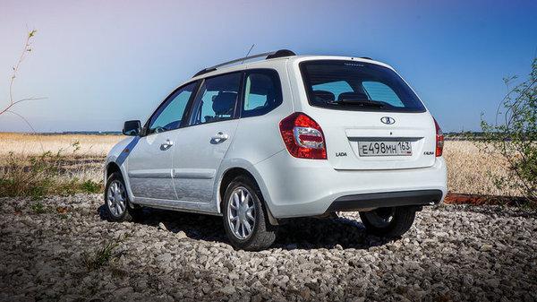 АвтоВАЗ начал продажи универсала Lada Kalina - Фото 1