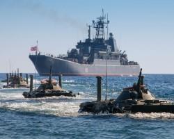 В.Путин ночью приказал начать учения на Черном море