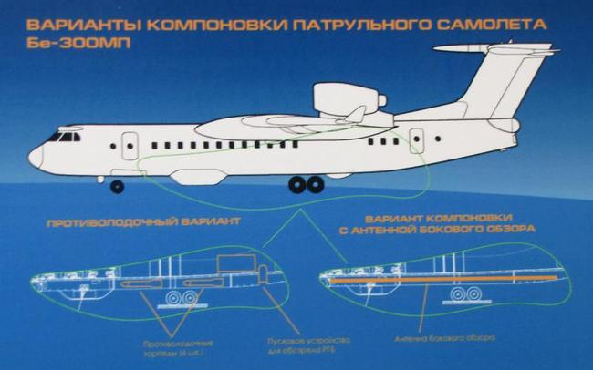 самолет на базе Бе-200),