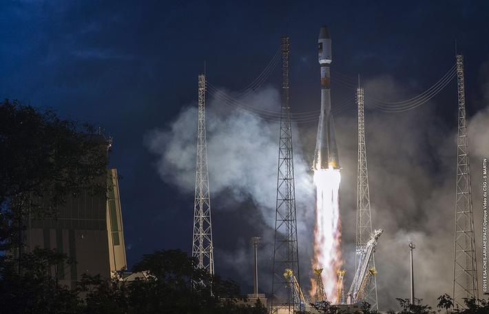 Ракета-носитель «Союз» вывела на расчетную орбиту европейские спутники связи Galileo-13 и Galileo-14