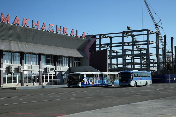 В аэропорту Махачкалы полным ходом идёт строительство нового международного терминала