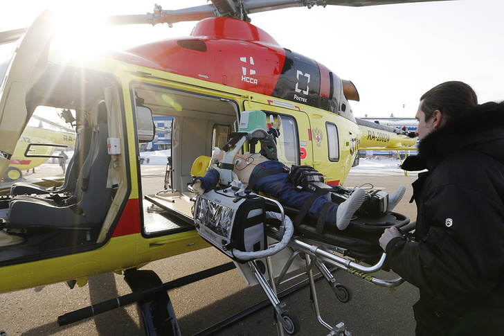 Новый вертолет для нужд санавиации получили медики Дагестана