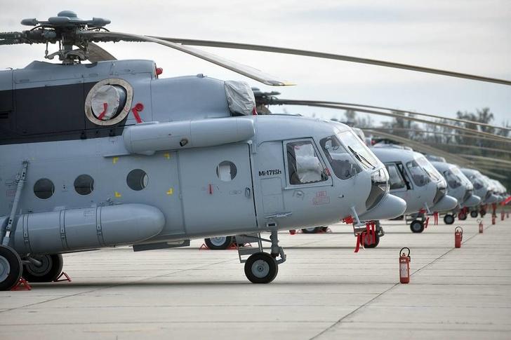 Россия передала Хорватии партию отремонтированных Ми-171Ш