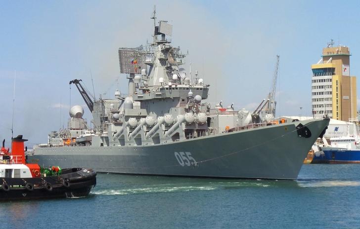 """Ракетный крейсер """"Маршал Устинов"""" Виталий Макарчев/ТАСС"""