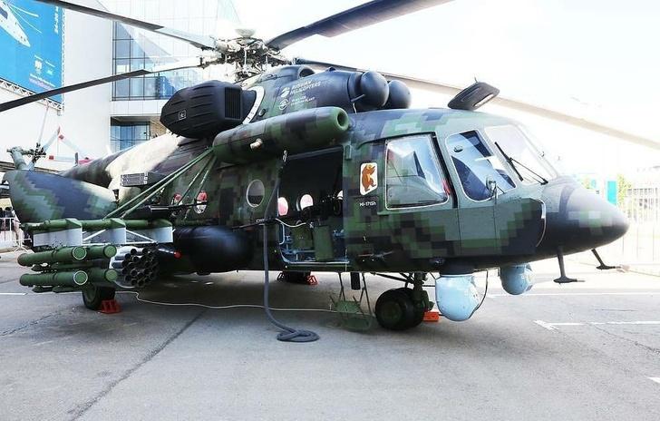 Вертолет Ми-8АМТШ-ВН Николай Новичков/ТАСС