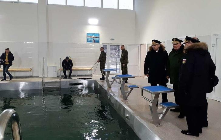 Первый на Черноморском побережье комплекс для подготовки водолазов открыли в Новороссийске