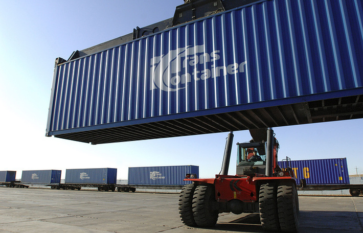 """""""Трансконтейнер"""" и GEFCO запустили новый контейнерный сервис из Европы в Китай"""