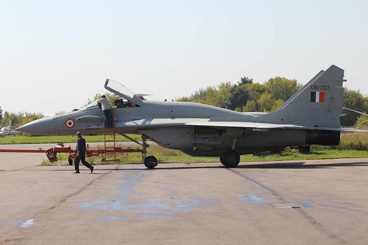 Истребитель МиГ-29 ВВС Индии Роман Азанов/ТАСС