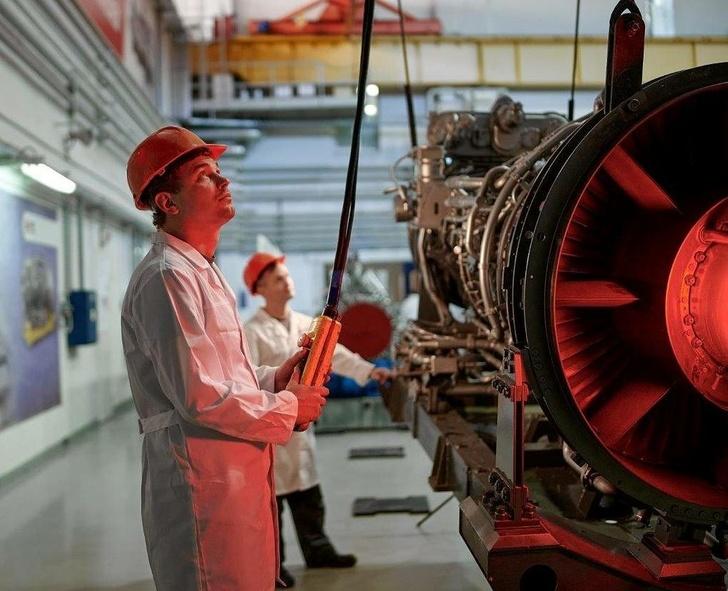 Двигатель М70ФРУ © Объединенная двигателестроительная корпорация