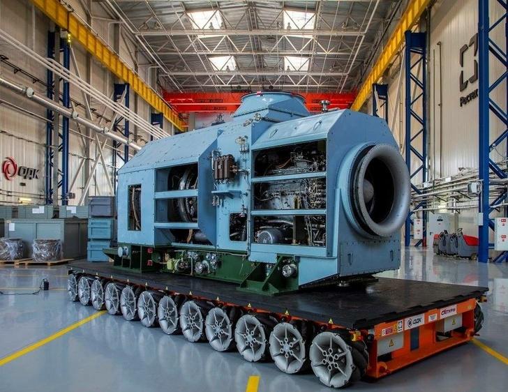 Газотурбинный двигатель М90ФР © Объединенная двигателестроительная корпорация